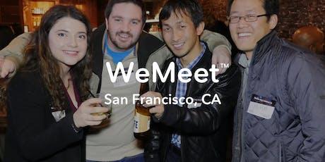 WeMeet San Francisco Networking & Social Mixer tickets