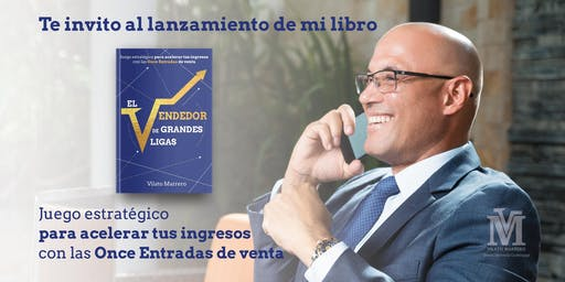Presentación libro El Vendedor de grandes ligas de Vilato Marrero