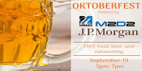 FREE Oktoberfest w/ J.P. Morgan @ M2D2 tickets