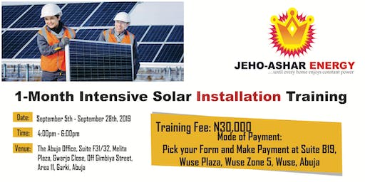 Solar Installation Training