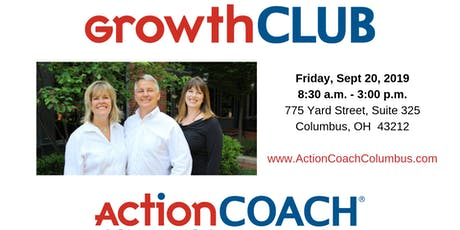 GrowthCLUB Workshop on 9/20/19 tickets