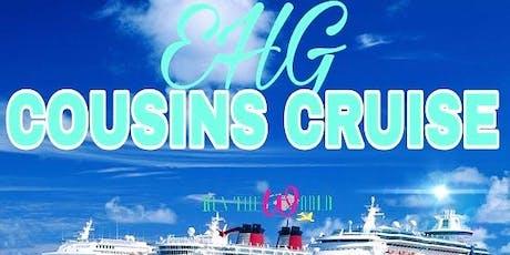 EGH Cousins Cruise tickets