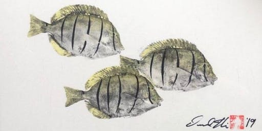How To Gyotaku: The Art of Japanese Fish Printing with Desmond Thain