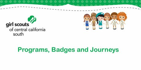 Programs, Badges and Journeys - Kern tickets