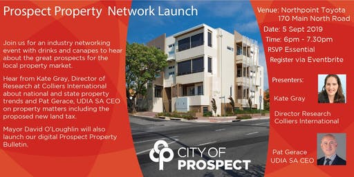 Prospect Property Network Launch and Networking Evening