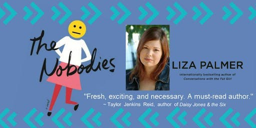 Creating Conversations Book Club ~  THE NOBODIES w/Author Liza Palmer