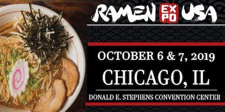 Ramen Expo USA and Izakaya Expo USA 2019 tickets