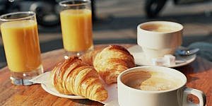 French BioBeach Breakfast Networking Event