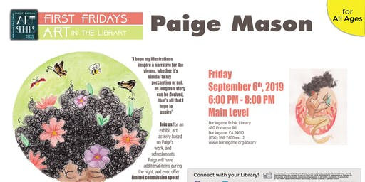 First Friday Art Series: Paige Mason