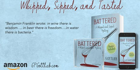 Whipped, Sipped, & Tasted: Delicious Night of Cooking With A Side of Murder tickets