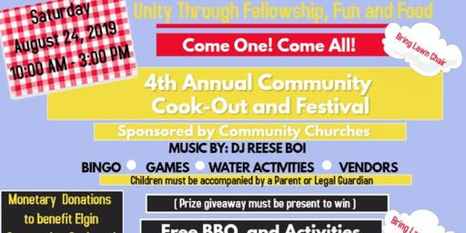 Free Community Cookout