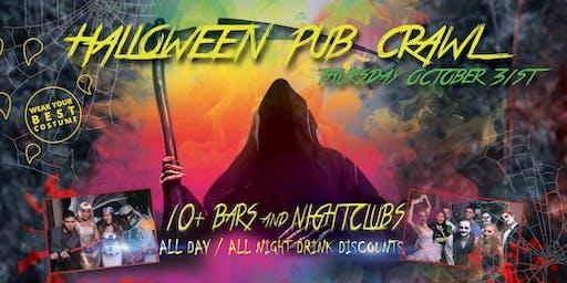 SAN DIEGO HALLOWEEN NIGHT PUB CRAWL - Thursday, Oct 31st