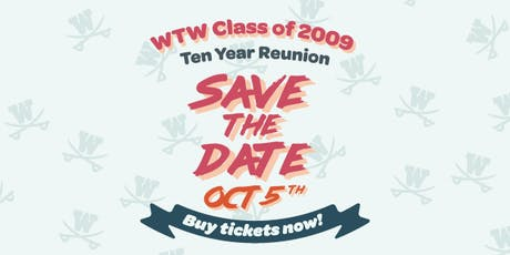 W.T. Woodson Class of 2009:10-Year Reunion tickets