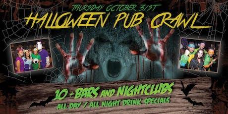 PACIFIC BEACH HALLOWEEN NIGHT PUB CRAWL - Thursday, Oct 31st tickets