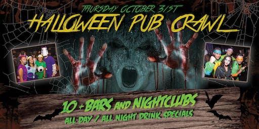 PACIFIC BEACH HALLOWEEN NIGHT PUB CRAWL - Thursday, Oct 31st