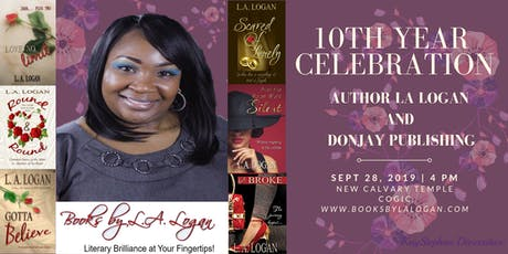 Author L. A. Logan's 10 Year Author-Anniversary Celebration tickets
