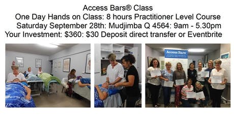 Learn Access Consciousness Bars® Sept 28 Mudjimba Qld 4564 tickets