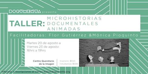Taller - Microhistorias documentales animadas