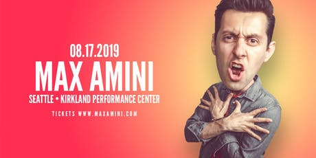 Max Amini Live in Seattle - Authentically Absurd Tour tickets