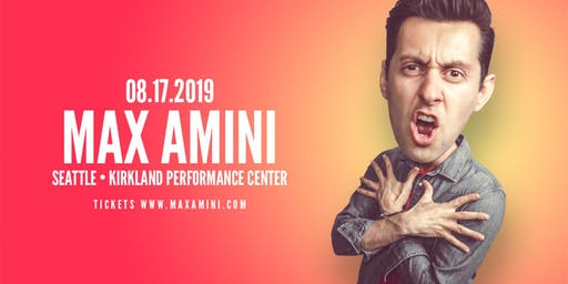 Max Amini Live in Seattle - Authentically Absurd Tour
