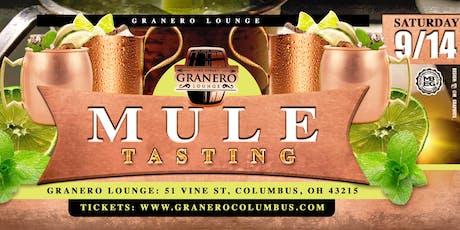 Mule Tasting tickets