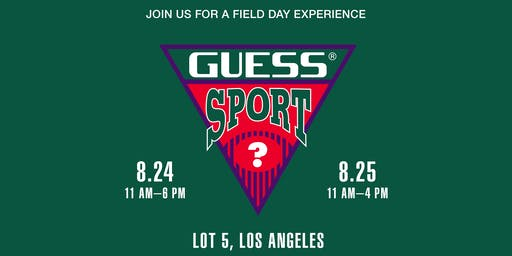GUESS SPORT LA POP-UP EXPERIENCE