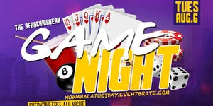 AFROCARIBBEAN GAME NIGHT (FREE AFTERWORK) #CUTTYPALANCE