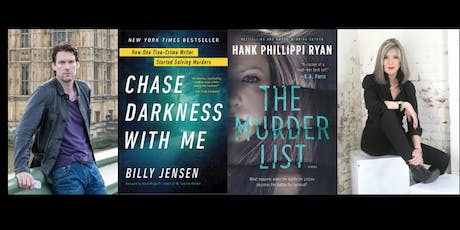Billy Jensen and Hank Phillippi Ryan Book Signing and Talk   tickets