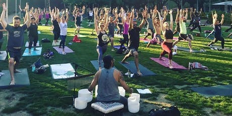 Discovery Green Yoga with Singing Bowls tickets