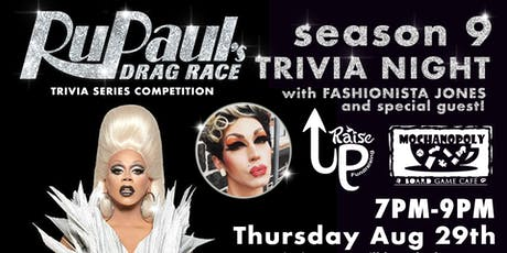 Drag Race Trivia: A Series Competition - Season 9 at Mochanopoly tickets