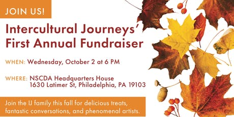 Intercultural Journeys First Annual Fundraiser tickets
