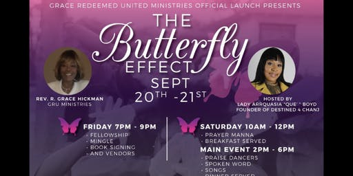 Grace Redeemed United Ministries Launch Event Pres