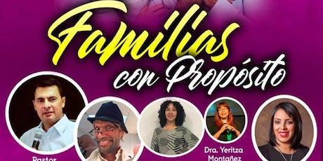 """Congreso de Familias 2019 - """" Familias con Propósito"""" boletos"""
