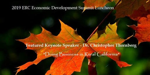 2019 Annual Nevada County ERC Economic Development Luncheon