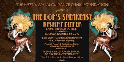 The Don's Speakeasy Murder Mystery Dinner