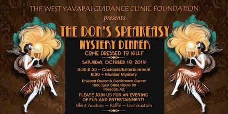 The Don's Speakeasy Murder Mystery Dinner tickets