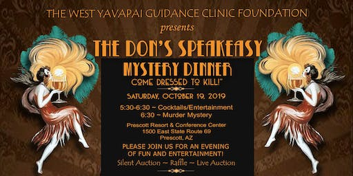 The Don's Speakeasy Murder Mystery Dinner