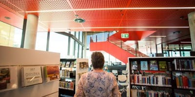 Behind the scenes library tour @ Devonport Library