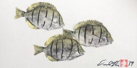 How To Gyotaku: The Art of Japanese Fish Printing with Desmond Thain tickets
