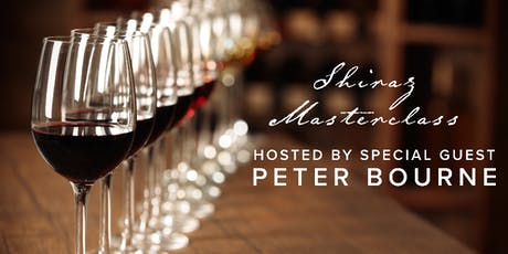 Cool Climate Shiraz Masterclass - Hosted by Peter Bourne tickets
