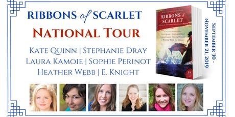 Stephanie Dray & E. Knight Launch Ribbons of Scarlet tickets