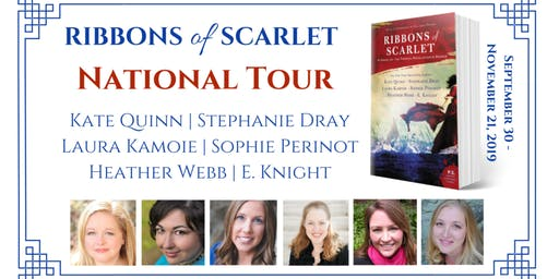 Stephanie Dray & E. Knight Launch Ribbons of Scarlet