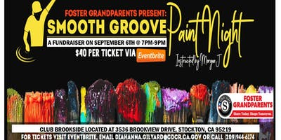 Smooth Groove Paint Night