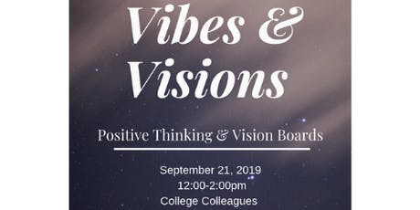 Vibes & Visions (Adult VIsion Board Class)  tickets