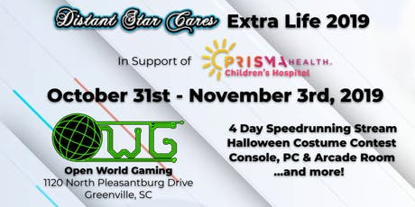 Distant Star Cares Extra Life 2019 tickets