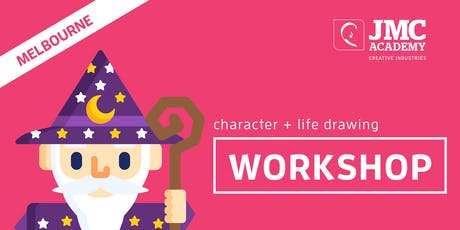 Character and Life Drawing Workshop (JMC Melbourne) 4th Oct 2019 tickets