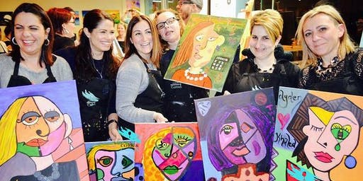 Paint Your Mate 'Picasso Style' (2hr Paint & Sip) - BYO Food & Drink