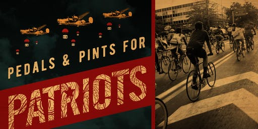 Pedals and Pints for Patriots