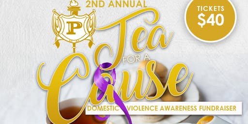 2nd Annual Tea for a Cause: Domestic Violence Awareness Fundraiser