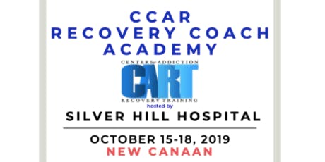 CCAR Recovery Coach Academy hosted by Silver Hill tickets